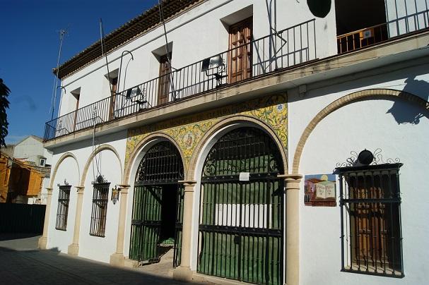 Sede de la Biblioteca Pública Municipal de Andújar.
