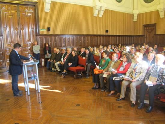 Francisco Reyes inaugura el acto conmemorativo del Día Internacional de los Derechos Humanos.
