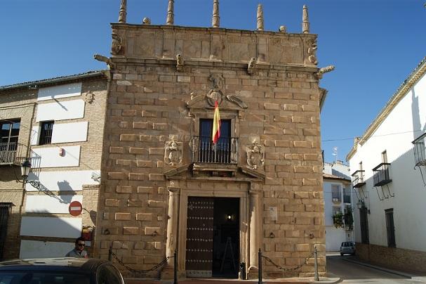 Edificio de la Agencia Tributaria, en Andújar.