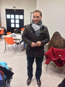 El alcalde de Andújar, Paco Huertas, ha visitado esta sala de estudio.
