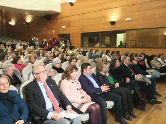 Autoridades que han intervenido en la inauguración de esta III Semana contra el cáncer.