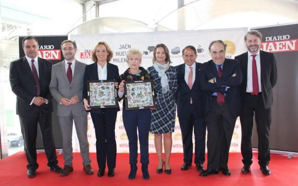 Acto de presentación de este foro de debate 'Diálogos. Jaén Nuevo Milenio'.