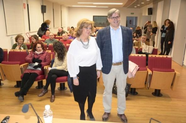 La Delegada Territorial de Igualdad, Salud y Política Sociales, Teresa Vega, ha presentado el II Plan Provincial de Salud de Jaén.