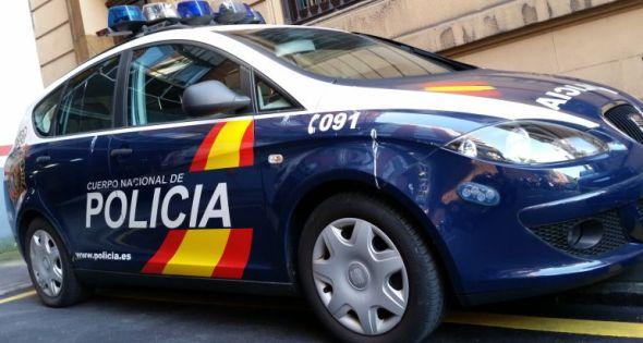 La Policía Nacional rescata en Jaén a una excursionista