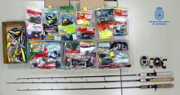 robo en almacen de pesca
