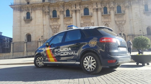 La Policía Nacional ha detenido en Jaén a un prófugo de la justicia