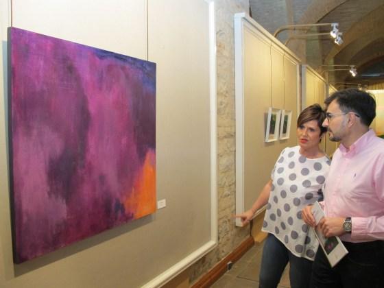 exposición de pintura de Soledad Fores
