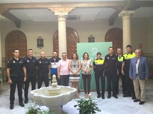 Nuevos policías locales en Jaén