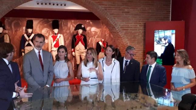 Reyes de España en Bailén