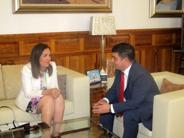 Reunión de Francisco Reyes y Catalina Madueño
