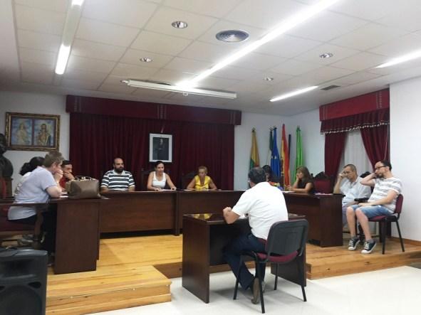 Pleno del Ayuntamiento de Lopera