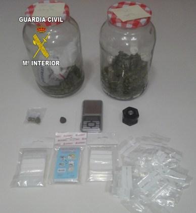 Tráfico de drogas en Villanueva de la Reina