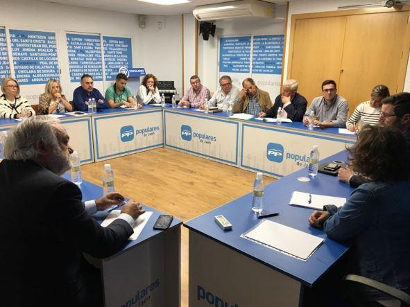 Reunión sectorial de sanidad del PP