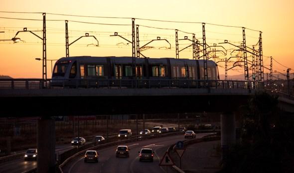 transporte público en Andalucía