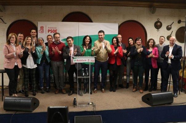 Candidatura del PSOE para las elecciones andaluzas