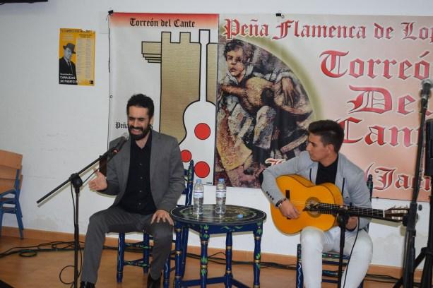 Velada flamenca en Lopera