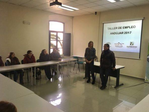 taller de empleo en Andújar