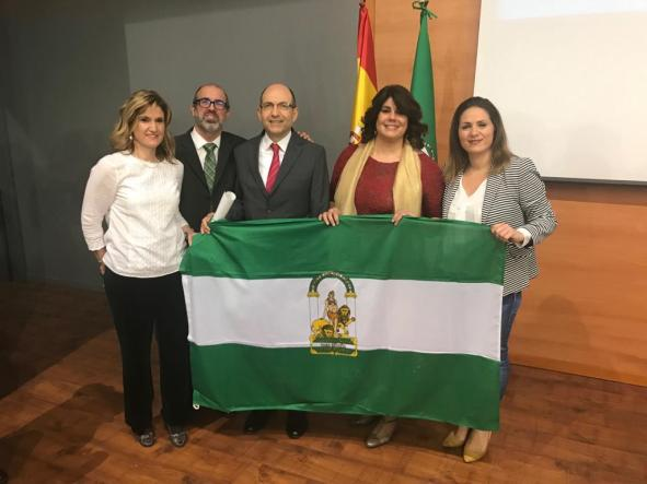 Bandera de Andalucía 2019