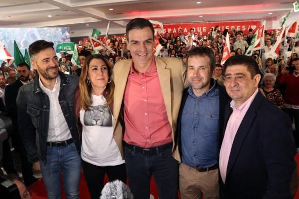 Pedro Sánchez en Jaén