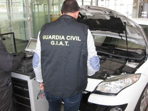 vehículos falsificados