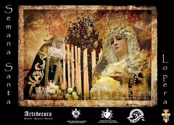 Cartel de la Semana Santa de Lopera 2019