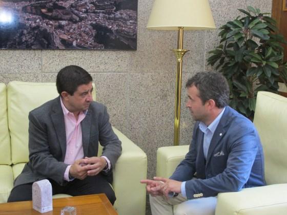 Reunión alcalde de Jaén