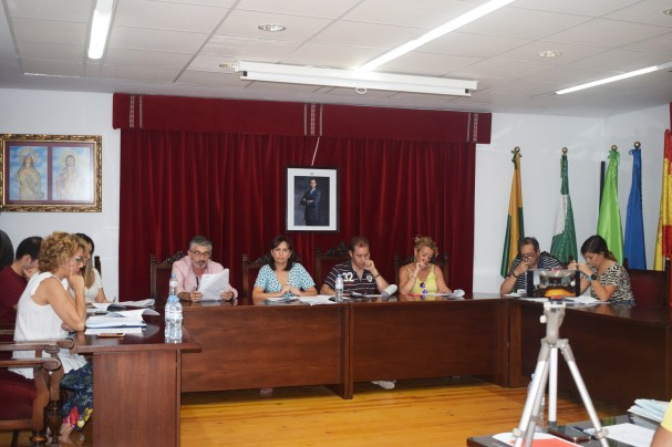 Pleno municipal de Lopera