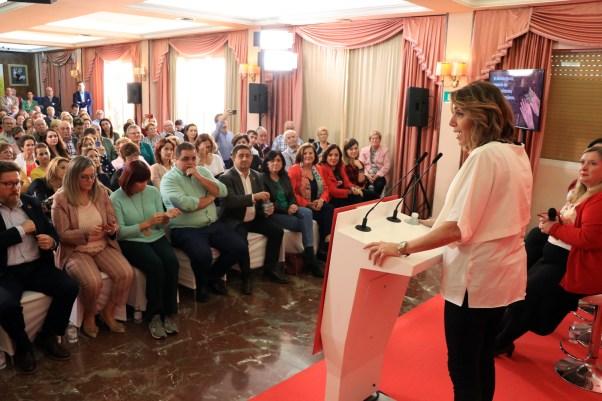 Susana Díaz en Martos