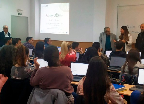 curso de Analítica Web en Andújar