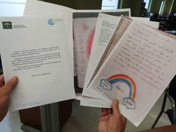 Cartas para el coronavirus
