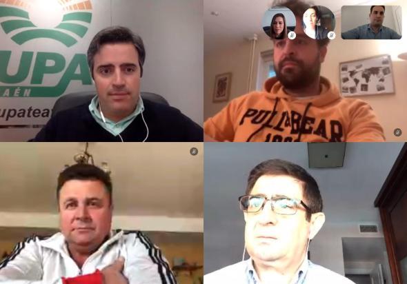 Reunión del PSOE con UPA