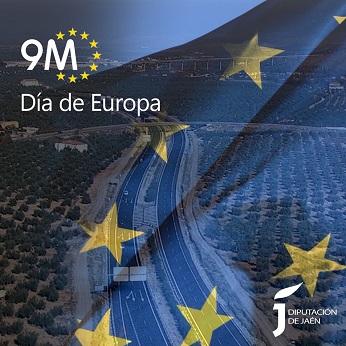 La Diputación de Jaén se suma este 9 de mayo a la celebración del Día de Europa.