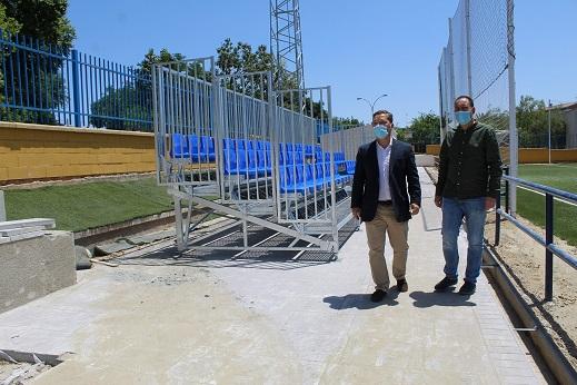 Prosigue el compromiso con el deporte de Andújar y las mejoras en las instalaciones municipales.