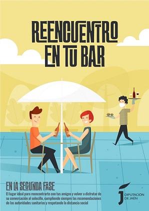 La Diputación pone en marcha una campaña promocional de apoyo al sector de los bares y restaurantes en la provincia.