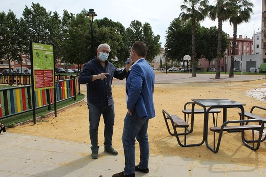 El Ayuntamiento de Andújar prosigue con el Plan de Puesta a punto en diferentes zonas de tránsito y parques  de Andújar y sus pedanías.