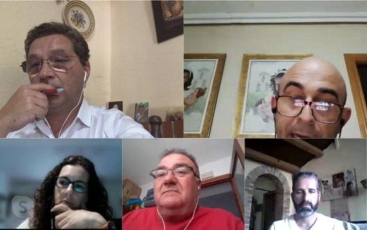 Paco Huertas hace un balance con la alcaldesa y alcaldes pedáneos del desarrollo de los diferentes dispositivos puestos en marcha por el Ayuntamiento de Andújar.