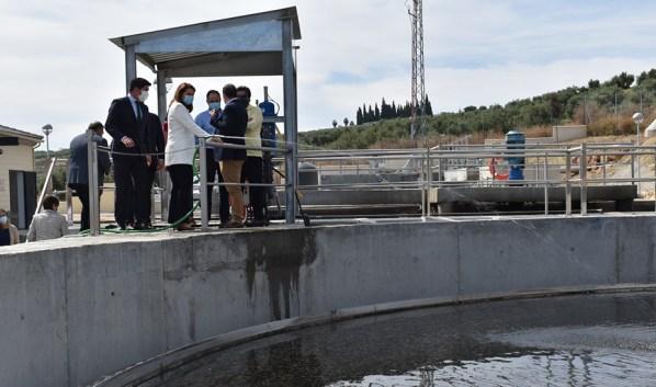estación depuradora de aguas residuales de Arjonilla