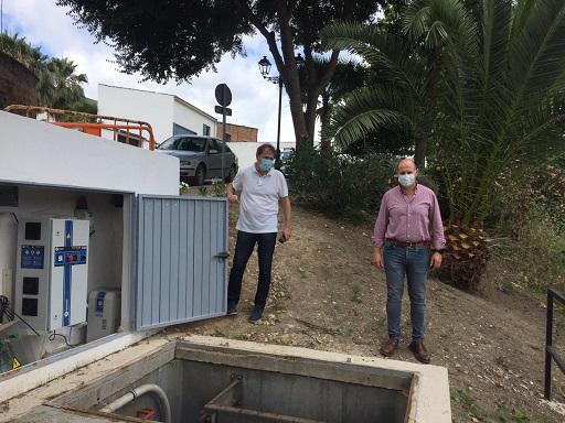 Diputación y Ayuntamiento de Villanueva de la Reina destinan más de 222.000 euros a mejorar el saneamiento del municipio.