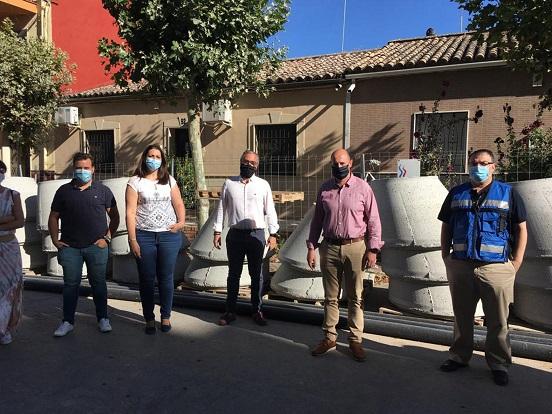 La Diputación destina 657.000 euros a renovar la red de abastecimiento y saneamiento en la calle Andújar de Bailén.
