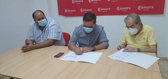 El Ayuntamiento de Andújar renueva su acuerdo de colaboración con la Cámara de Comercio para potenciar el impulso al empresariado andujareño.