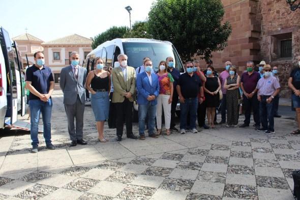 Flota de autobuses de Andújar