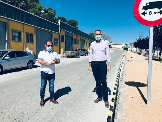 La Diputación invierte más de 100.000 euros en la mejora de la entrada a Arjona desde Jaén.