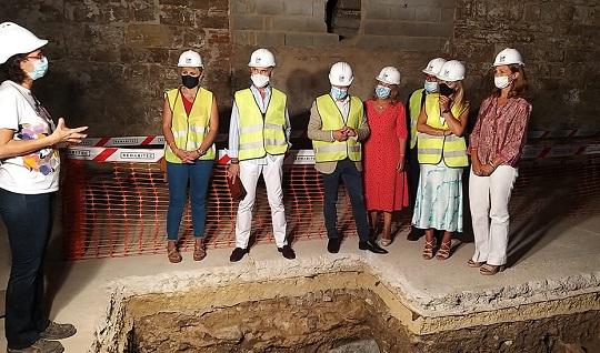 Cultura apuesta por recuperar los restos almohades de la iglesia de Santo Domingo de Jaén.