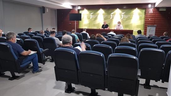 Diputación inicia las obras de mejora energética y puesta a punto de 35 depuradoras en 28 municipios.
