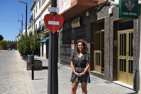 El Ayuntamiento de Lopera pone en marcha la campaña de sensibilización «Viaja hacia el respeto, frena la violencia».