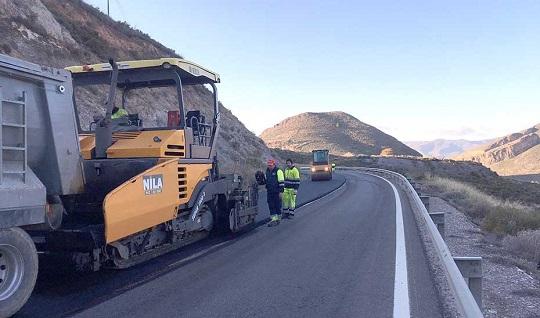 La Junta pone en marcha un plan de choque para la conservación de las carreteras andaluzas.