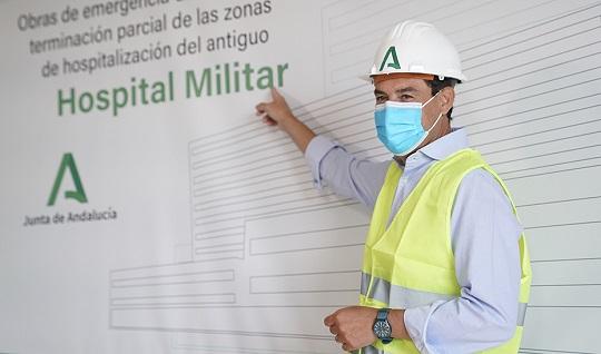 Juanma Moreno anuncia un plan de inversiones de más de 117 millones de euros en infraestructuras sanitarias.
