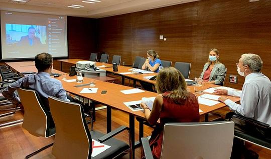 Rogelio Velasco ratifica que el nuevo curso universitario arrancará de forma presencial.