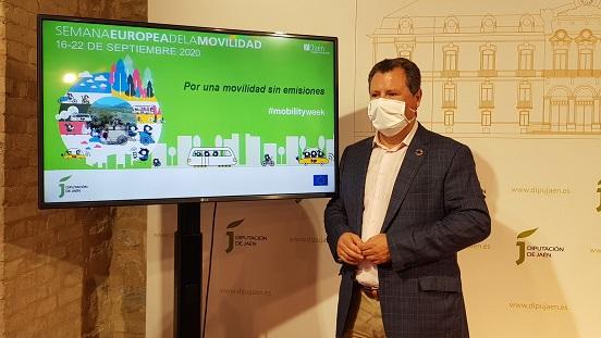 La Diputación de Jaén se suma a la Semana Europea de la Movilidad Sostenible con una docena de actividades.