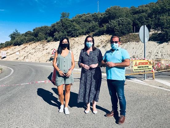 Diputación destinará más de 342.000 euros a mejorar la vía que comunica Fuensanta de Martos con Valdepeñas de Jaén.